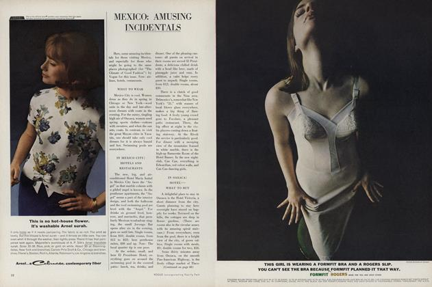 Article Preview: Mexico: Amusing Incidentals, March 15 1963 | Vogue