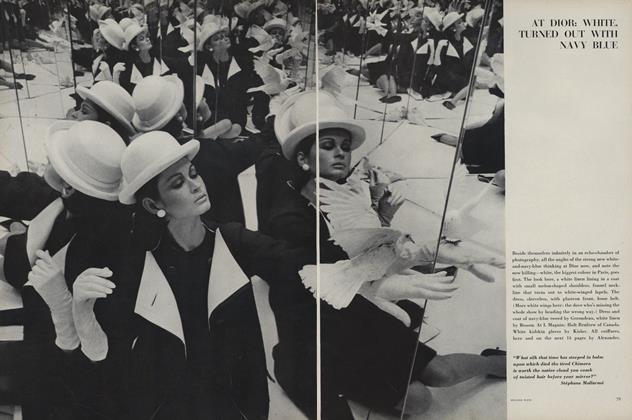 Article Preview: Paris, March 15 1963 | Vogue