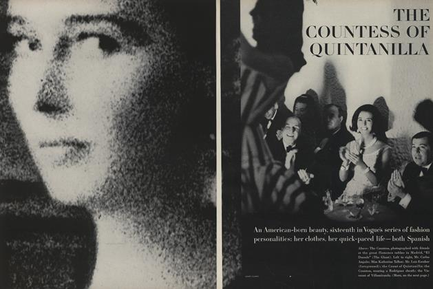 Article Preview: The Countess of Quintanilla, March 15 1963 | Vogue