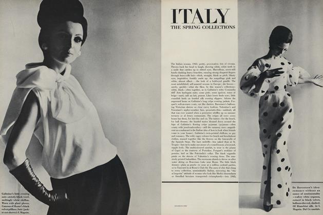 Italy the Spring Collections