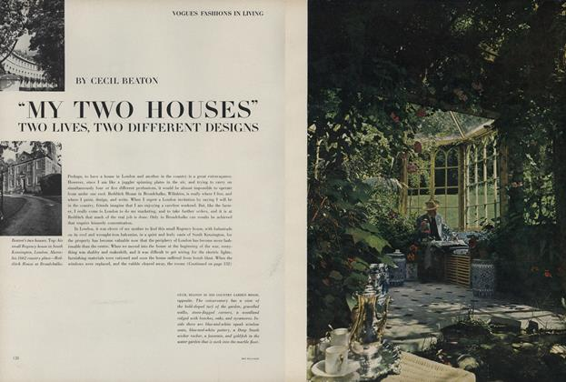 "Article Preview: ""My Two Houses"" Two Lives, Two Different Designs, March 15 1963 