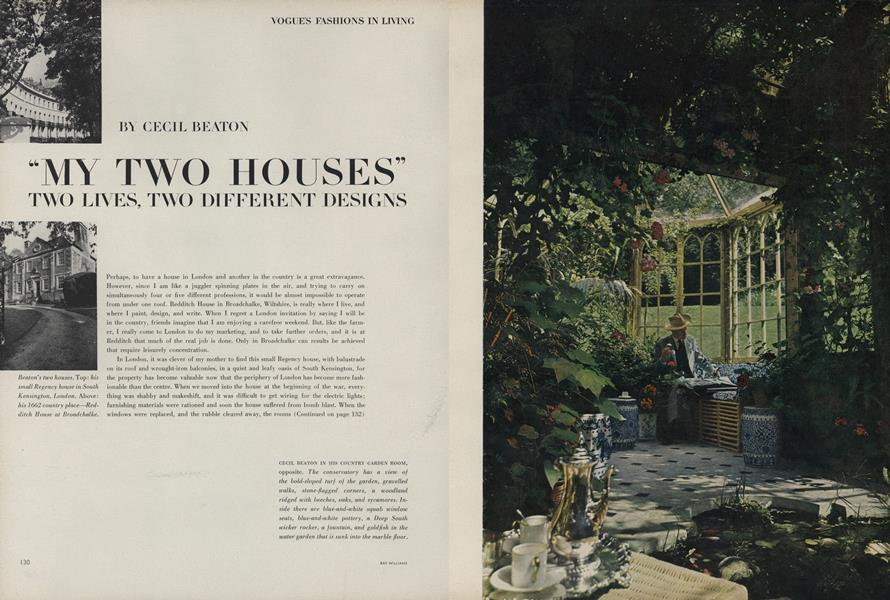 """""""My Two Houses"""" Two Lives, Two Different Designs"""