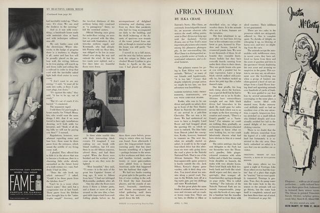 Article Preview: African Holiday, April 1 1963 | Vogue