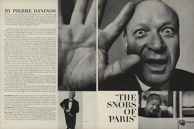"Article Preview: ""The Snobs of Paris"", April 1 1963 