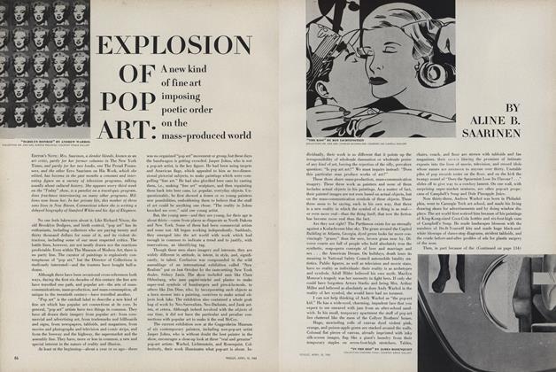 Explosion of Pop Art