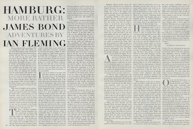 Hamburg: More Rather James Bond Adventures