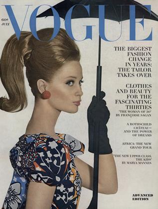 Cover for the July 1963 issue