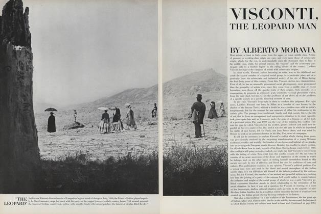 Visconti, The Leopard Man