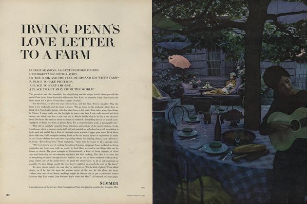 Irving Penn's Love Letter to a Farm