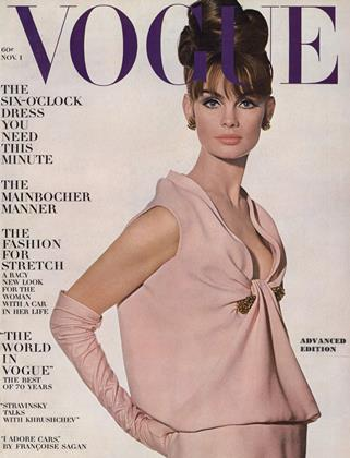 Cover for the November 1 1963 issue