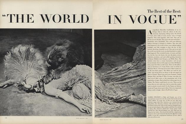 "Best of the Best: ""The World in Vogue"""