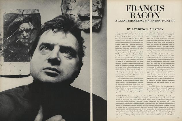 Francis Bacon: a Great Shocking, Eccentric Painter