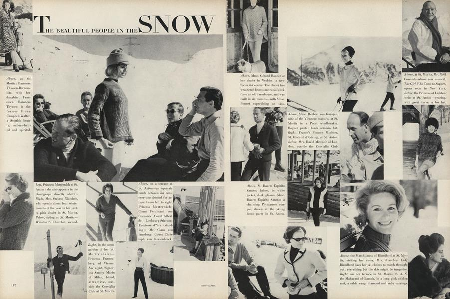The Beautiful People in the Snow