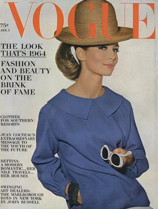 Cover for the January 1 1964 issue