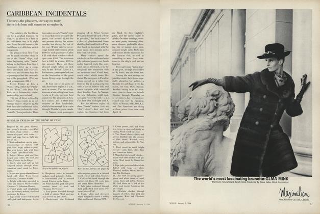 1964: Smaller Suits–Speckled Tweeds