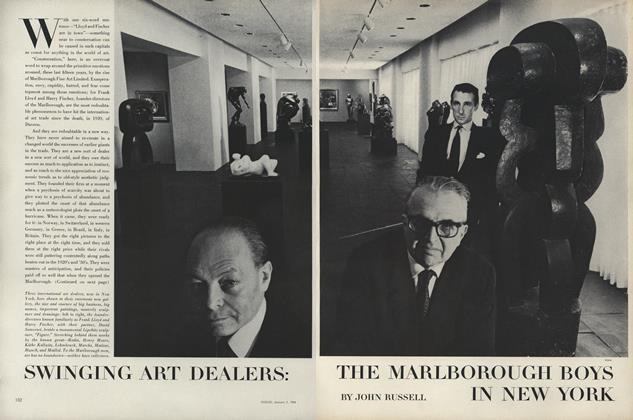 Swinging Art Dealers: The Marlborough Boys in New York