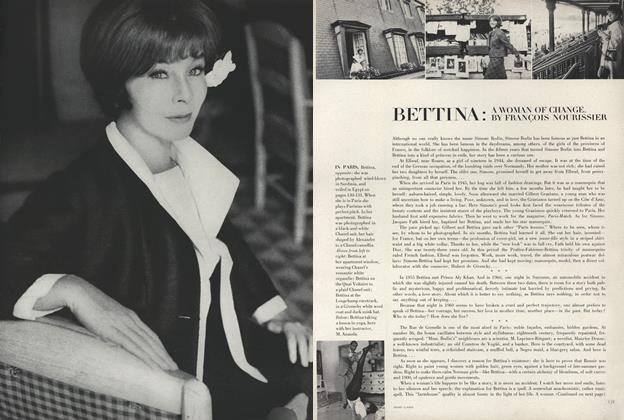 Bettina: A Woman of Change
