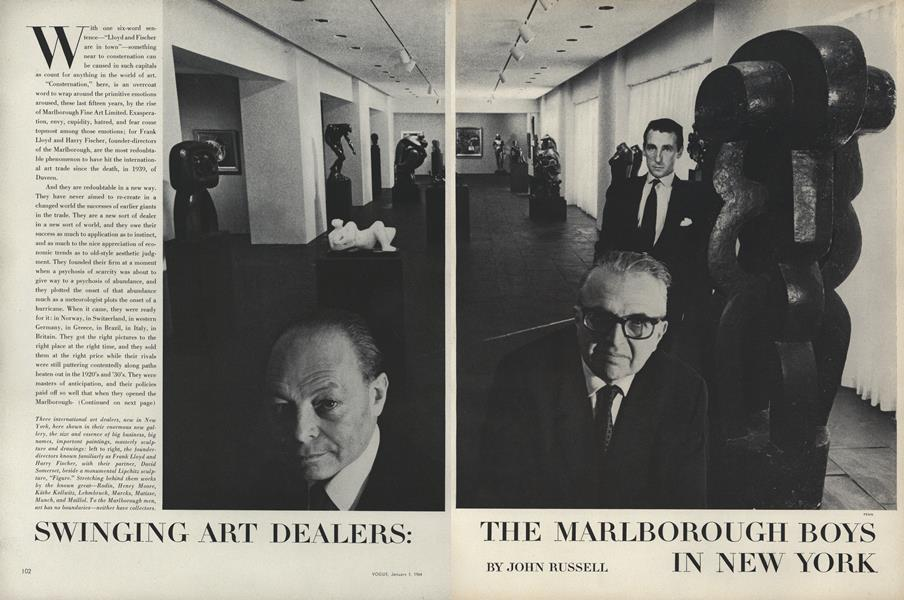 Swinging Art Dealers: The Marlborough Boys in New York