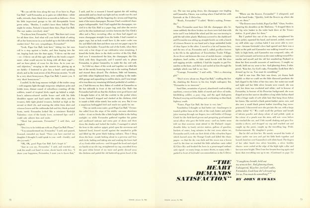 "Article Preview: ""The Heart Demands Satisfaction"", January 15 1964 