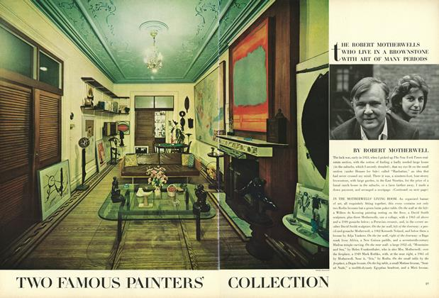 Private Lives—With Art: Two Famous Painters' Collection