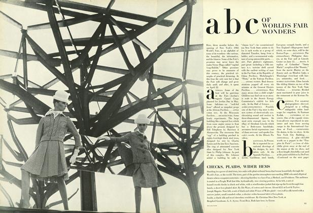 Article Preview: ABC of World's Fair Wonders, January 15 1964 | Vogue