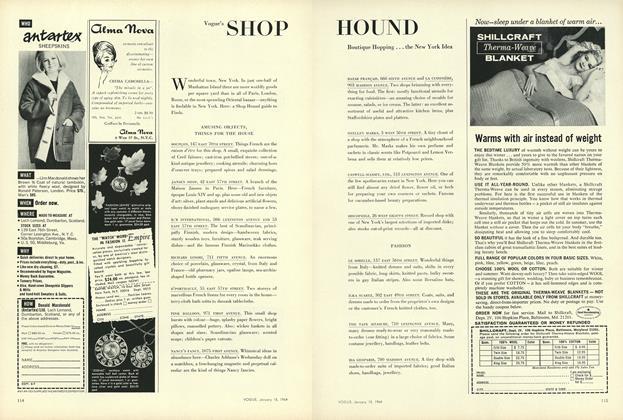 Boutique Hopping...the New York Idea