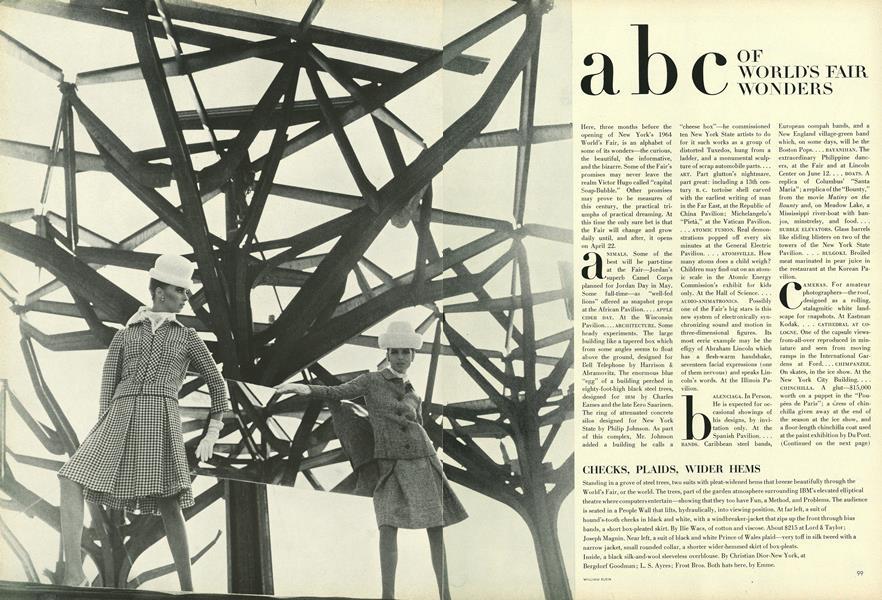ABC of World's Fair Wonders