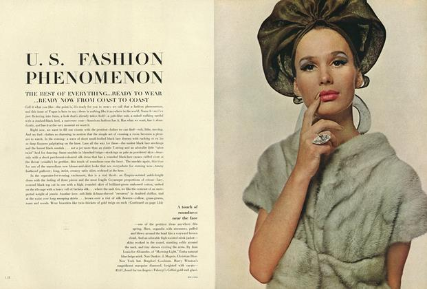 U. S. Fashion Phenomenon: The Best of Everything...Ready to Wear... Ready Now from Coast to Coast