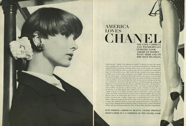 Article Preview: America Loves Chanel, February 1 1964 | Vogue