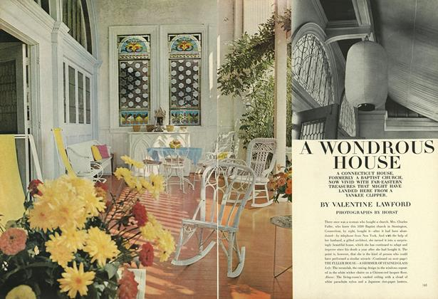 Article Preview: A Wondrous House, February 1 1964 | Vogue
