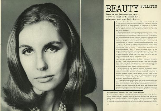 Article Preview: Beauty Bulletin, February 1 1964 | Vogue