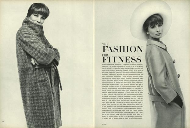 Article Preview: The Fashion for Fitness, February 15 1964 | Vogue