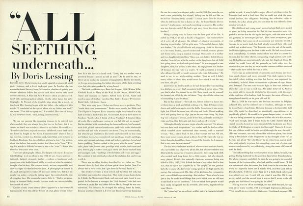"Article Preview: ""All Seething Underneath..."", February 15 1964 