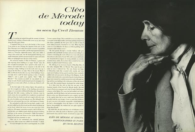 Article Preview: Cléo de Mérode today as seen by Cecil Beaton, February 15 1964 | Vogue