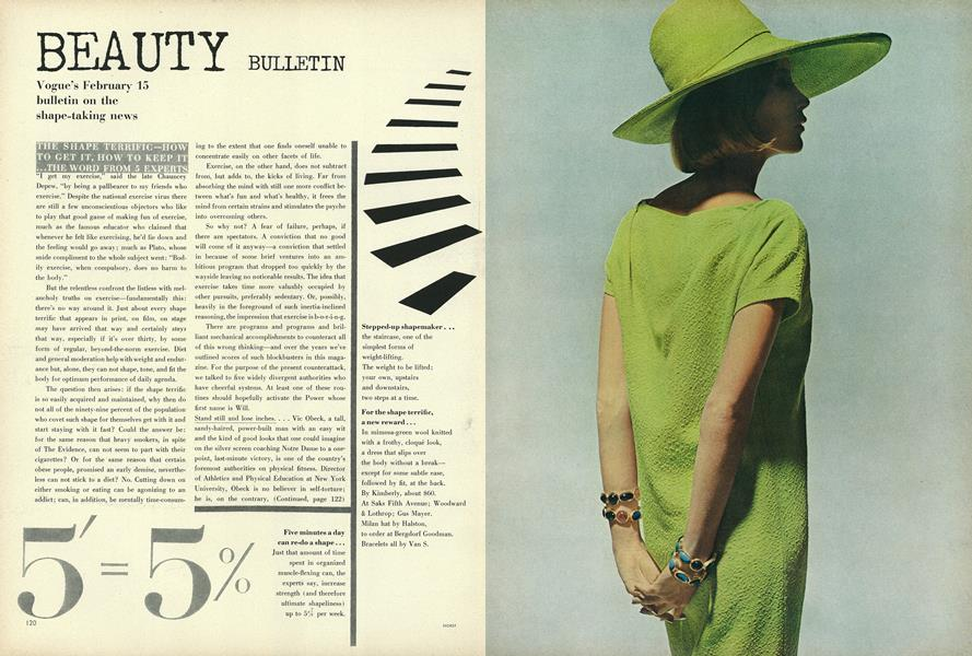 Vogue's February 15 bulletin on the shape-taking news
