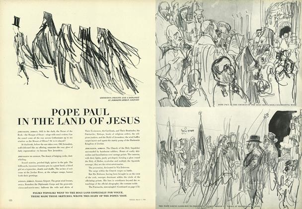 Pope Paul in the Land of Jesus