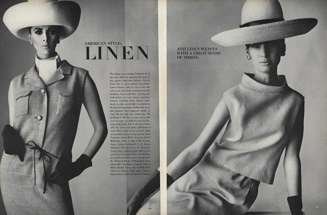 American Style: Linen and Linen Weaves with a Great Sense of Timing