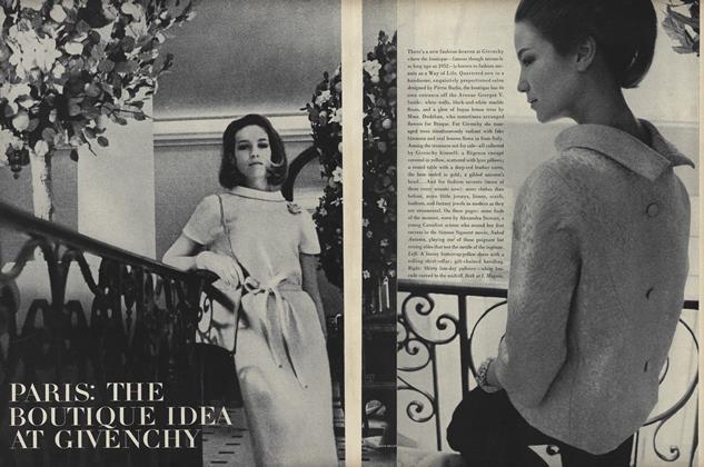 Paris: The Boutique Idea at Givenchy
