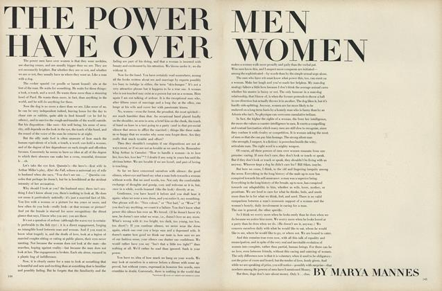 The Power Men Have Over Women