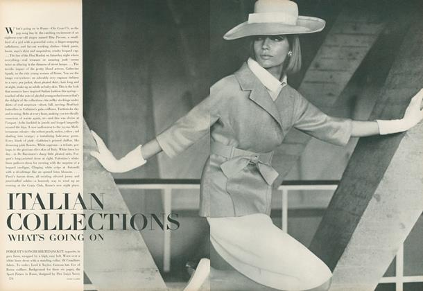 Article Preview: Italian Collections: What's Going On, April 1 1964 | Vogue