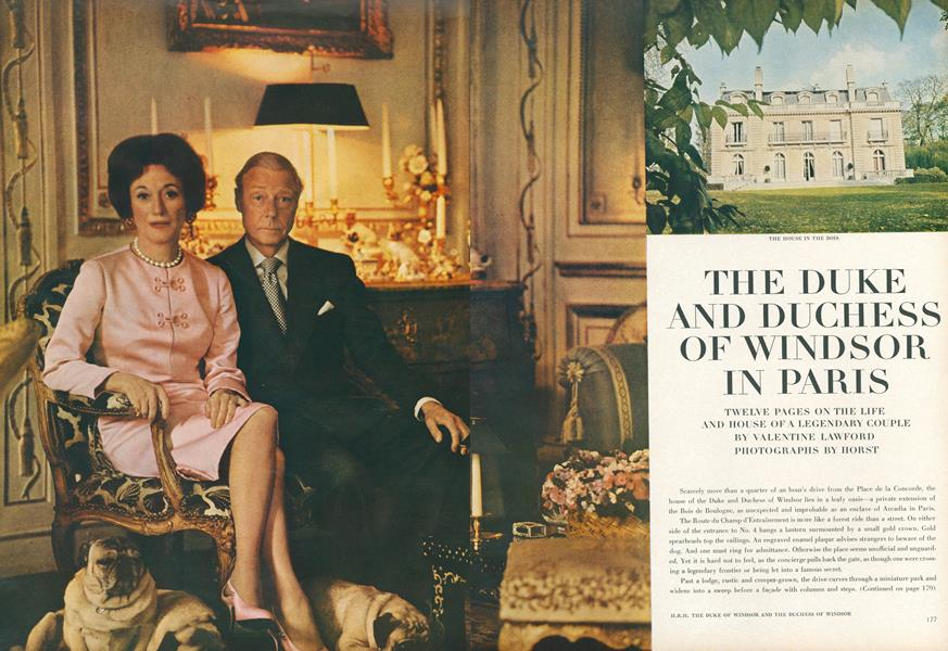 The Duke and Duchess of Windsor in Paris