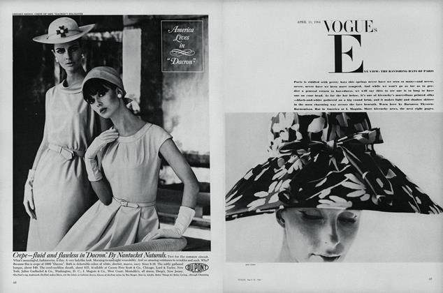 Vogue's Eye View: The Ravishing Hats of Paris