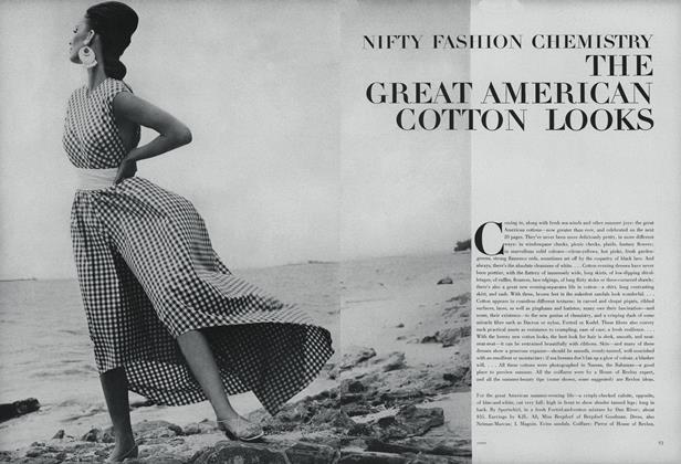 Nifty Fashion Chemistry: The Great American Cotton Looks