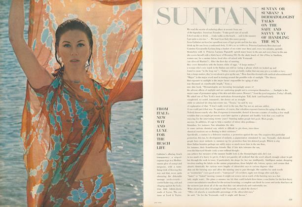 Suntan or Sunban: A Dermatologist Talks