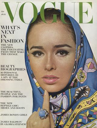 Cover for the July 1964 issue