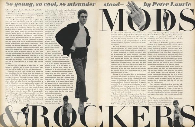 So Young, so Cool, so Misunderstood–Mods and Rockers