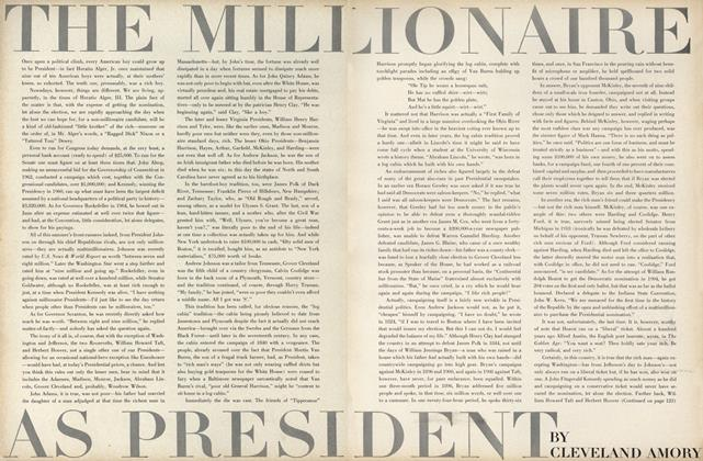 The Millionaire as President