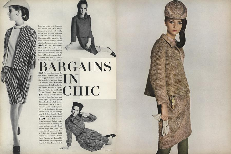 Bargains in Chic