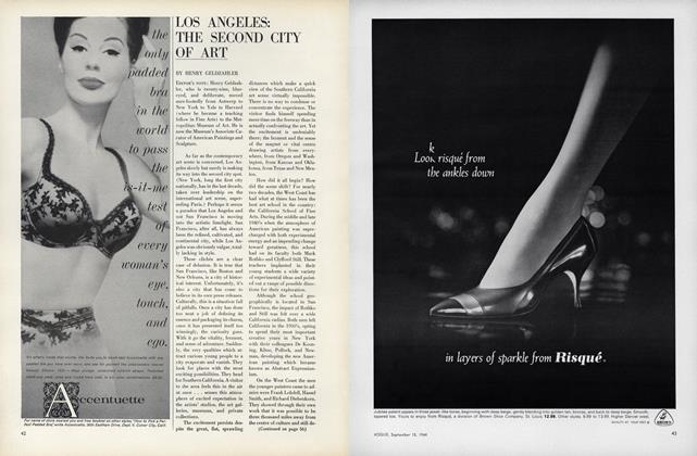 Article Preview: Los Angeles: The Second City of Art, September 15 1964 | Vogue