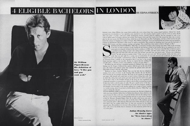 Article Preview: 4 Eligible Bachelors in London, September 15 1964 | Vogue
